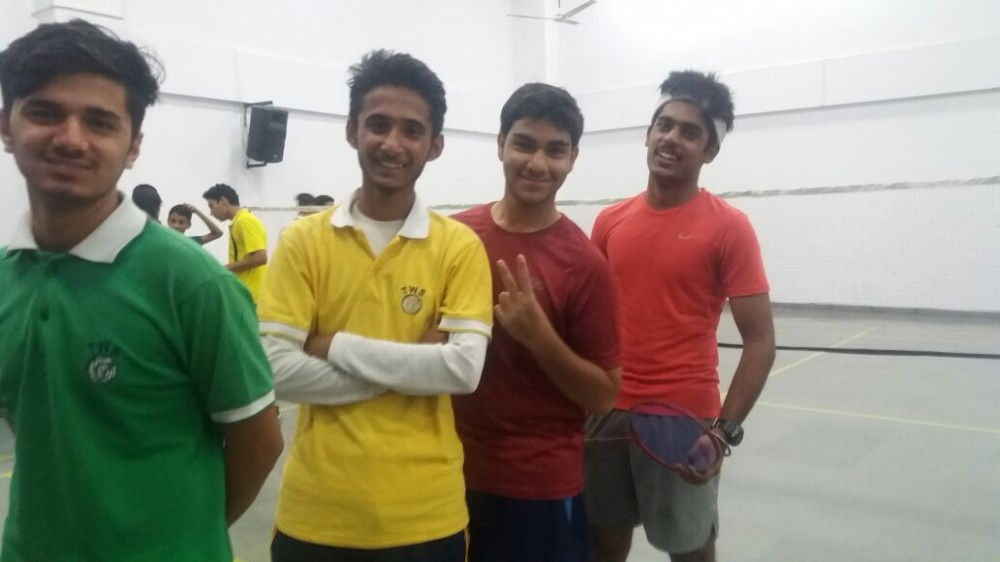 Badminton Inter school